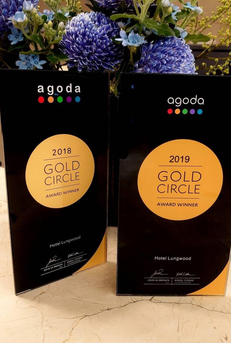 「アゴダゴールドサークルアワード」2年連続受賞しました
